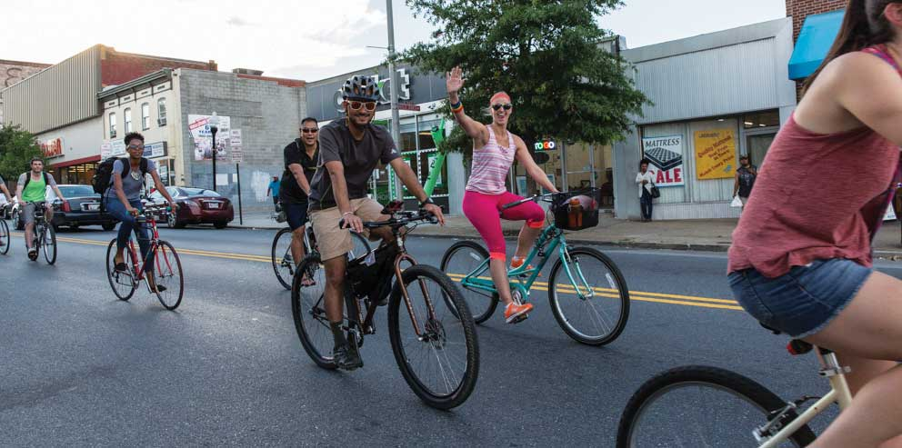 Sizzlin' Summer Celebration w/Baltimore Bike Party